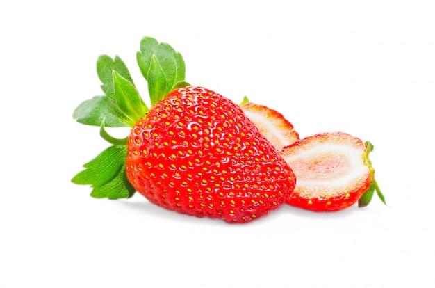 Red strawberry Premium Photo
