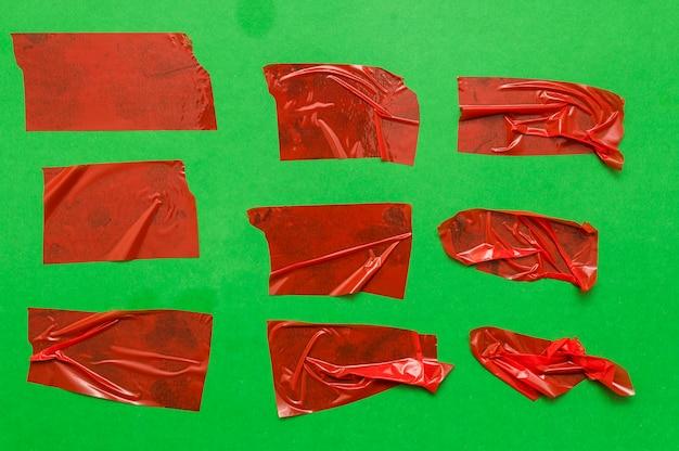 Parti della burocrazia sulla parete verde Foto Gratuite