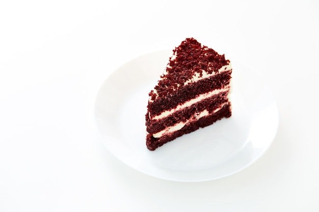 Red Velvet Cake and Plate Premium Photo  sc 1 st  Freepik : cake and plate - pezcame.com