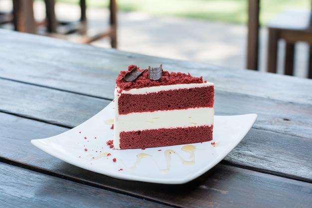 Red velvet cake Free Photo