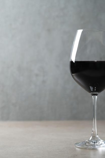 ガラスの赤ワイン 無料写真