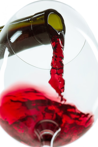 The red wine jet Free Photo