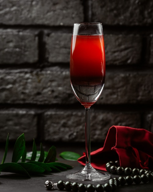 Red wine on the table Free Photo