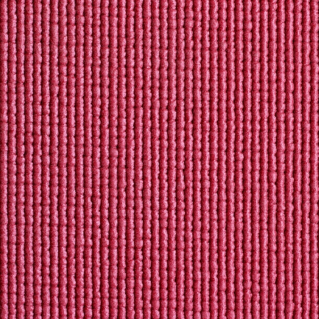 Red Yoga Mat Texture Background Premium Photo