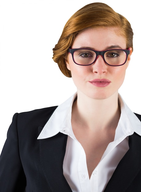 You head adult redhead glasses against. Something