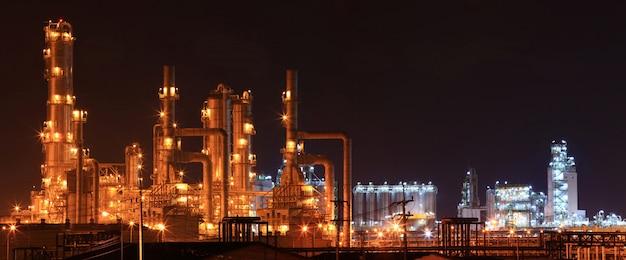Refinery plant Premium Photo