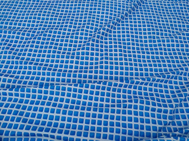 Reflective water surface of a swimming pool. Premium Photo