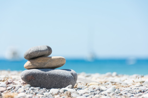 Relaxing on the beach Premium Photo