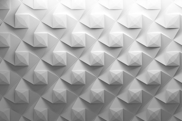 Repeating pattern with rotated pyramids Premium Photo