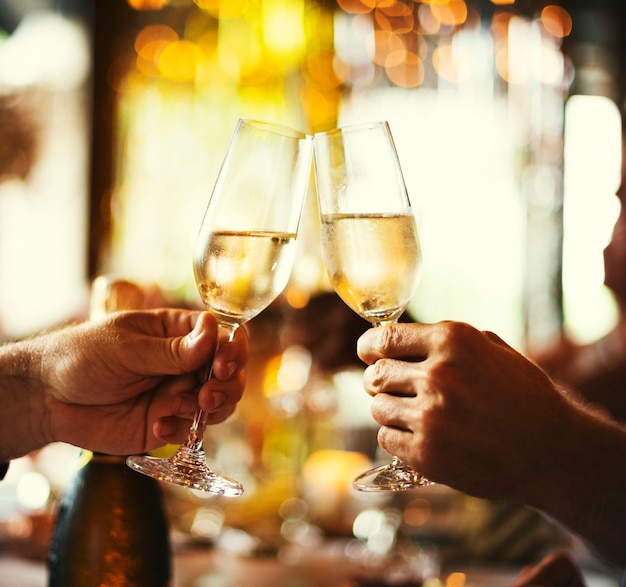 Restaurant chilling out classy lifestyle reserved concept Premium Photo
