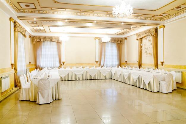 Restaurant event banquet, wedding, celebration Premium Photo