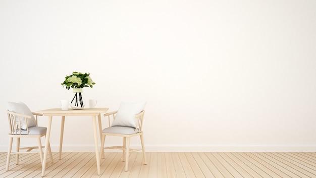Restaurant table Premium Photo