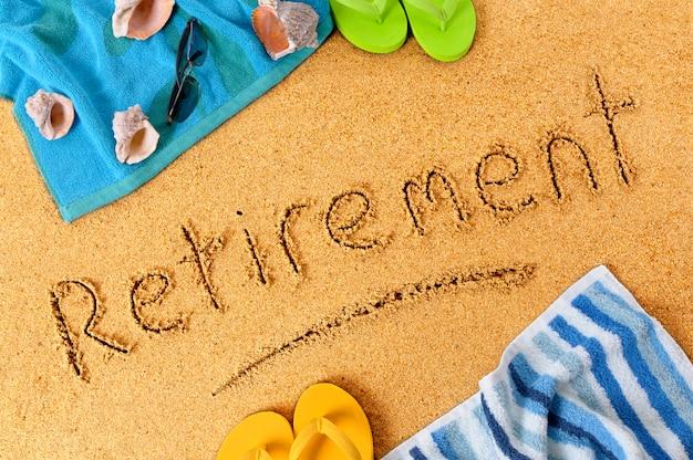 Retirement beach vacation Premium Photo