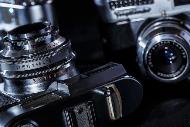 Retro cameras Free Photo
