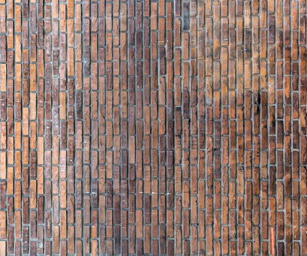 Ретро копия пространства кирпичной стены фон Бесплатные Фотографии