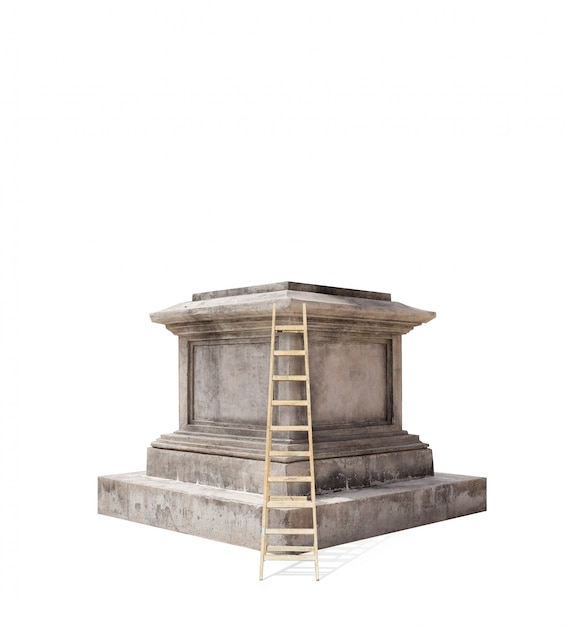 Retro pedestal Free Photo