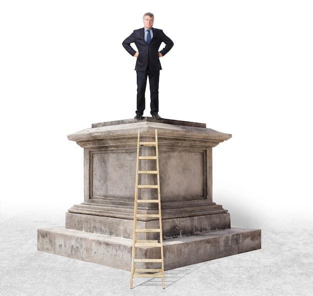 Retro pedestal Free Photo