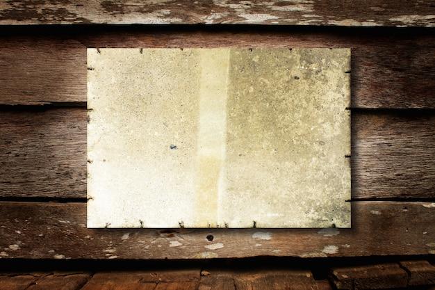 Retro stained write blank white Free Photo
