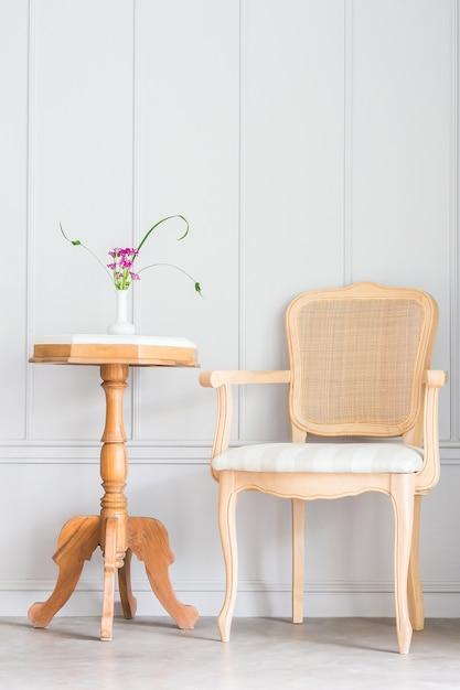 Retro table decoration texture wall Free Photo