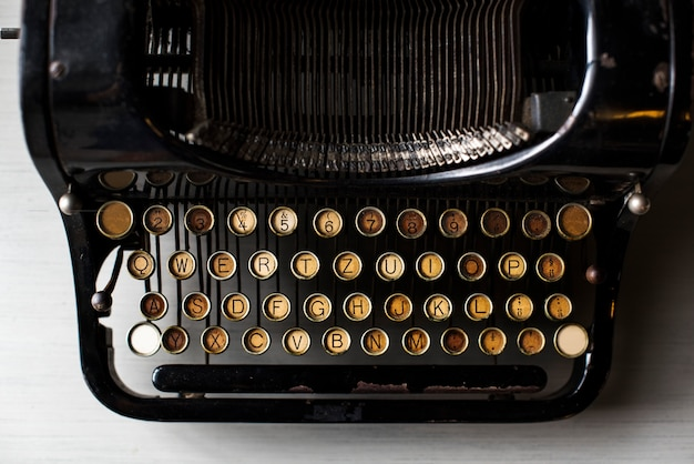 Retro typewriter machine old style Free Photo