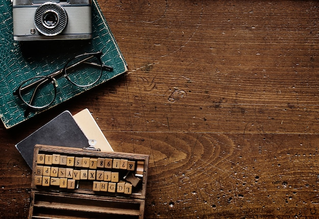 Retro typewriter machine old style Free Photo