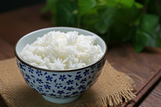 Rice in a bowl Free Photo