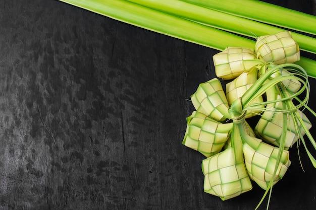 Rice dumpling leaf Premium Photo