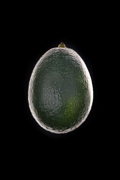 Спелый авокадо силуэт Бесплатные Фотографии