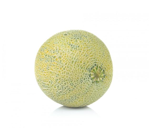 Ripe cantaloupe melon isolated Premium Photo