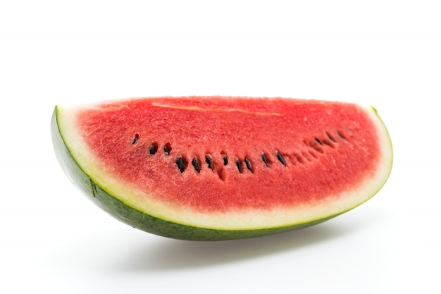 Ripe tasty raw striped fruit Free Photo