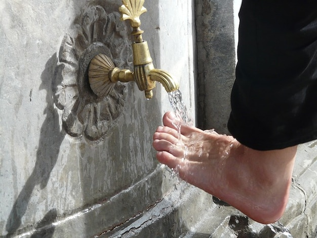 Ritual feet care water islam foot washing 121 64793
