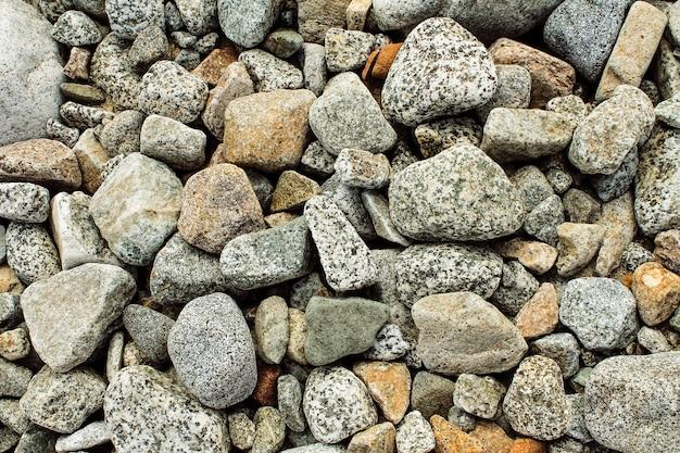 River stone texture Premium Photo