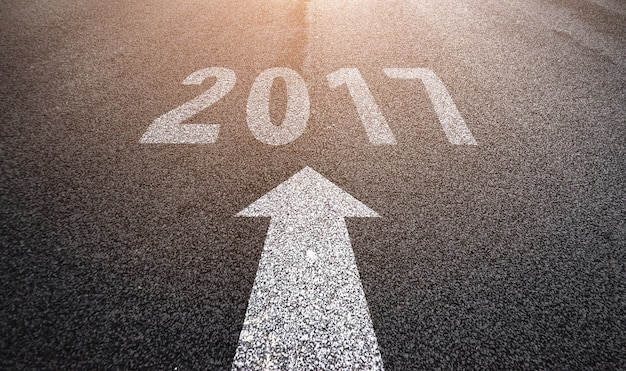 Road to 2017 Free Photo