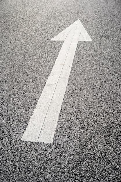 Road direction arow Free Photo