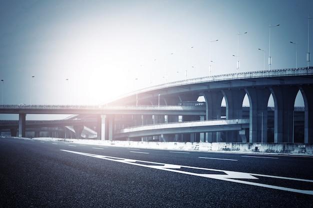Roads and bridges in harmony Free Photo