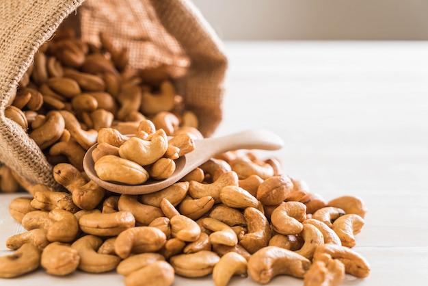 Roasted cashew nuts Premium Photo
