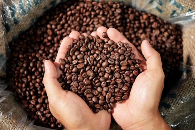 ローストコーヒー豆 Premium写真