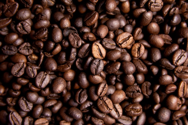 Roasted coffee beans Premium Photo