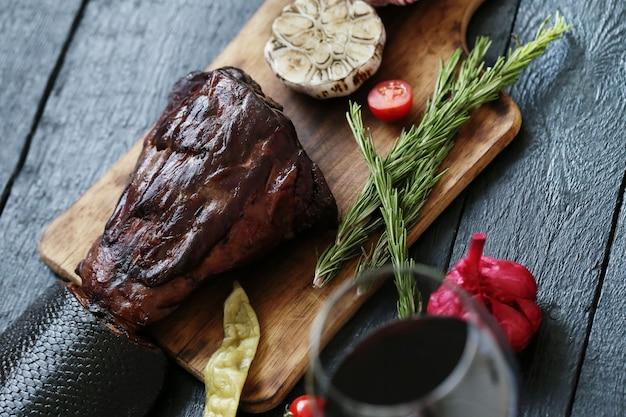 Жареное мясо со специями Бесплатные Фотографии
