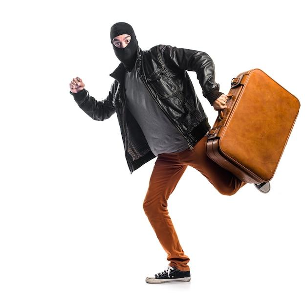 Robber in esecuzione veloce Foto Gratuite