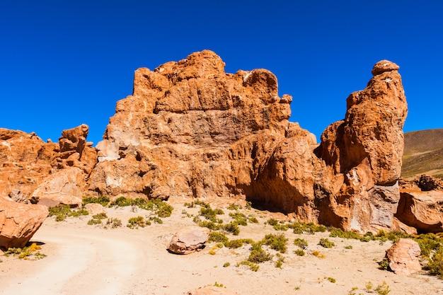 Rocks valley, bolivia Premium Photo
