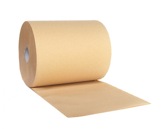 Roll of recycled paper Premium Photo