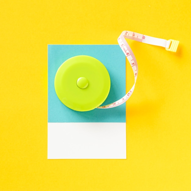 A roll of tape measure Free Photo