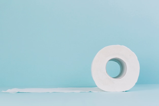 Roll of toilet paper Free Photo