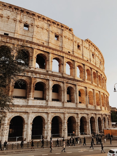 Римский колизей Premium Фотографии