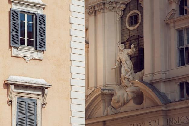 Римская статуя на улице Бесплатные Фотографии