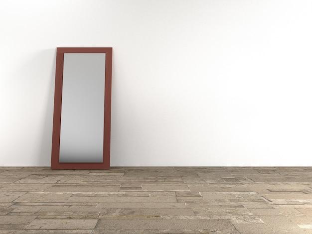 Комнатное и зеркальное стекло Premium Фотографии