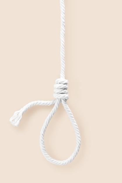 Rope noose for dead neck Premium Photo