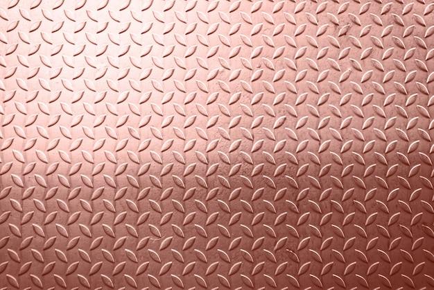 Rose gold foil metal texture background Premium Photo
