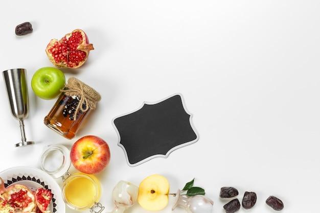 Rosh hashanah (jewish new year holiday) concept. Premium Photo
